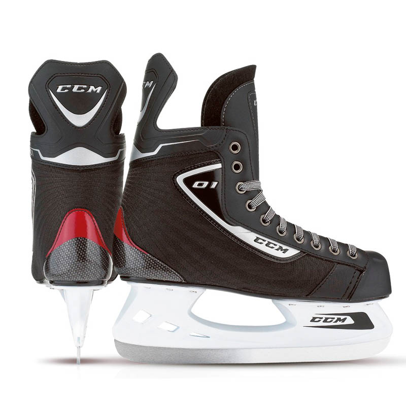 CCM U+ 01 Hockeyskøjte, Yth.