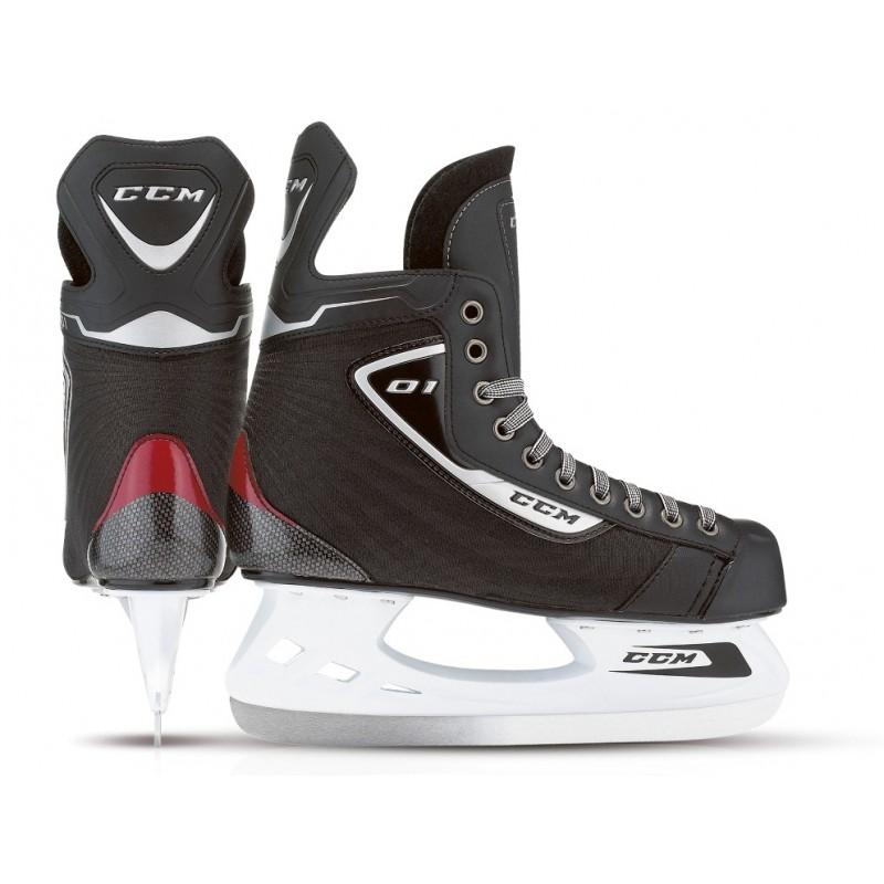 CCM U+ 01 Hockeyskøjte, Sr. - str 41