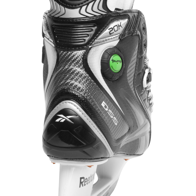 Reebok 20K Pump Hockey Skøjte, Jr. - 3.5/EE