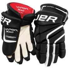 Bauer Vapor X40 Hockey Handske, Jr. - SORT