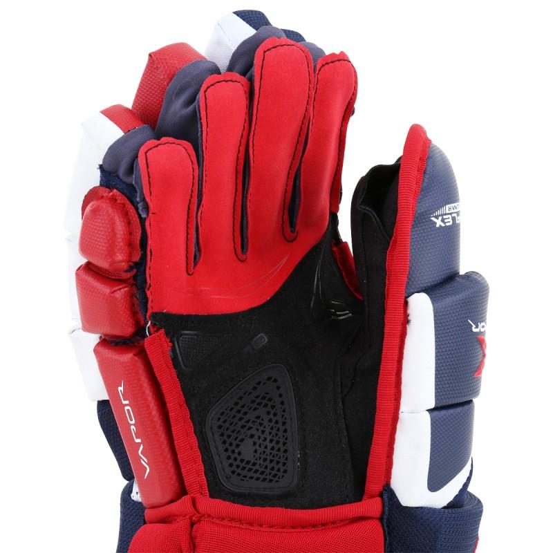 """Bauer Vapor 1X Hockey Handske, Sr. - 15"""" Sort"""