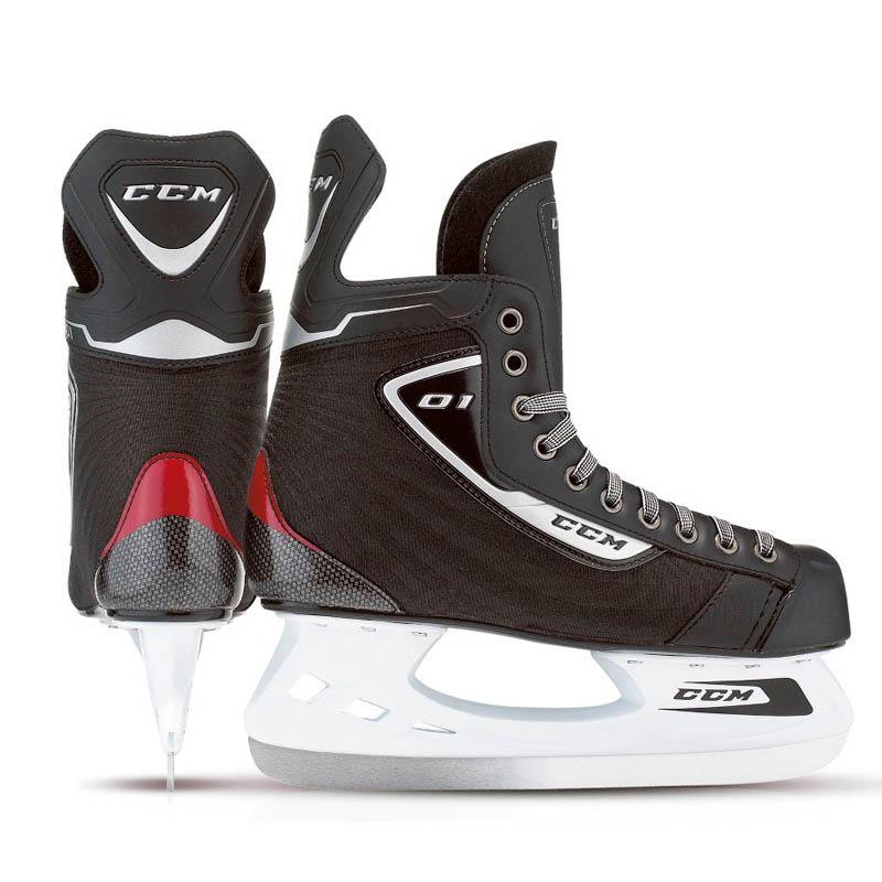 CCM U+ 01 Hockeyskøjte, Jr.